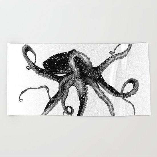 Cosmic Octopus Beach Towel