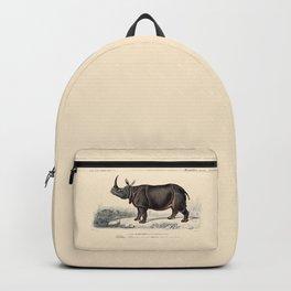 Indian Rhinoceros Backpack