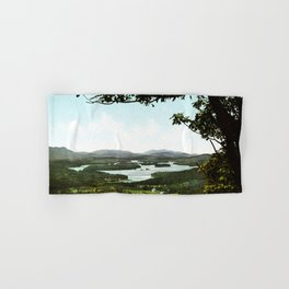 Lower Saranac Lake, Adirondack Mountains, New York, 1902 Hand & Bath Towel