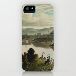 West Point, from above Washington Valley (1834) iPhone Case
