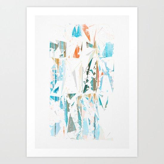 Splinters Art Print