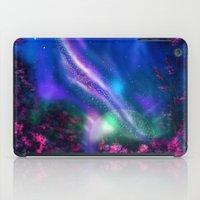 milky way iPad Cases featuring Milky Way by Ljartdesigns