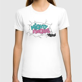 mighty fingers T-shirt