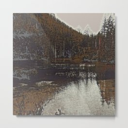 Lake II Metal Print