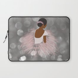 African American Ballerina Dancer Laptop Sleeve