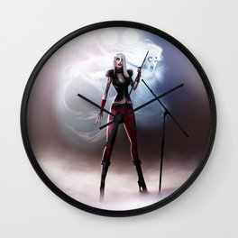 Banshee Killed The Siouxues Wall Clock