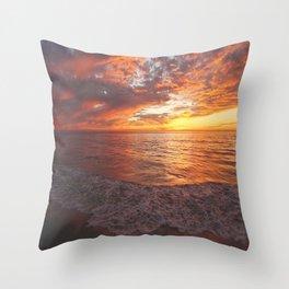 Inspirational Sunset by Aloha Kea Photography Throw Pillow