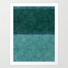 Imagining Rothko In Spring #3 Art Print