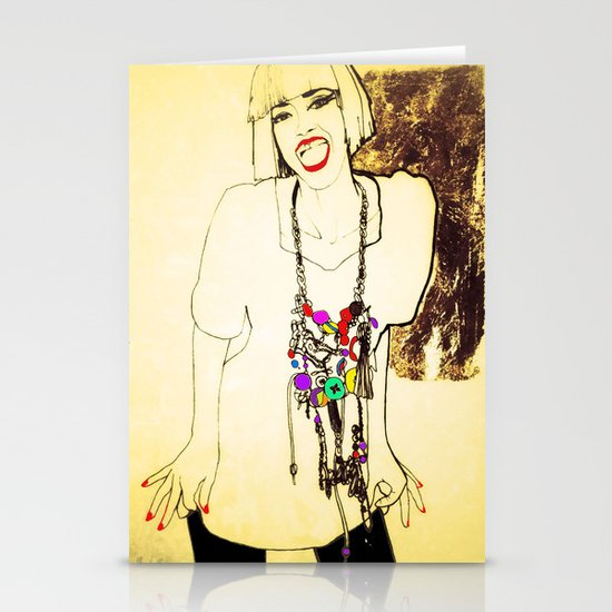 grit & glamour Stationery Cards