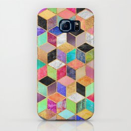 Colorful Cubes iPhone Case