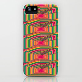 Seventies Trip iPhone Case