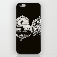 Society Party iPhone & iPod Skin