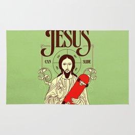 Jesus can slide Rug