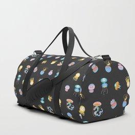 Pastel Jellyfish Duffle Bag