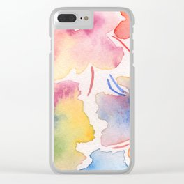 manchitas Clear iPhone Case
