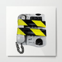 Dangerous Telephone Metal Print