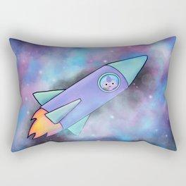 Wondrous & Whimzical Places: Bear and his Rocket Rectangular Pillow