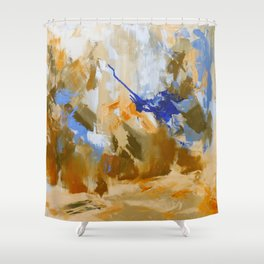 So They Went Shower Curtain