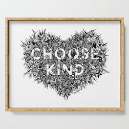 Choose Kind Serving Tray