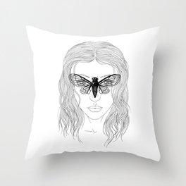 cicada glasses Throw Pillow