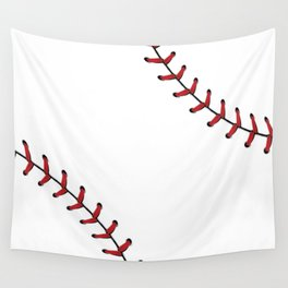 Baseball Laces Wall Tapestry