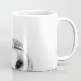 Black and white Owl Coffee Mug