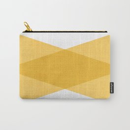 the yellow triangles Carry-All Pouch