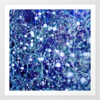 constellations Art Prints featuring constellations by Sandra Arduini
