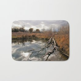 Cloudy day in the Colorado Foothills Bath Mat