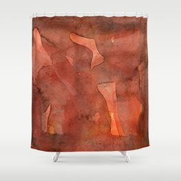 Abstract Nudes Shower Curtain