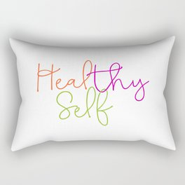 Heal thy self Rectangular Pillow