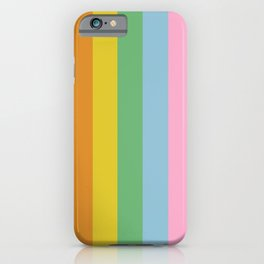 Pillars of Colour iPhone Case
