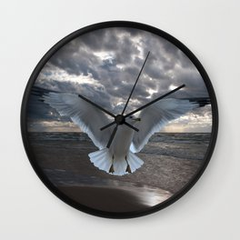 Evening Landing Wall Clock