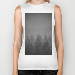 Winter Land Dark Biker Tank