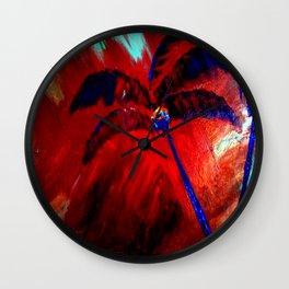 Royal Palms Wall Clock