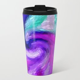 lilic swirl Travel Mug