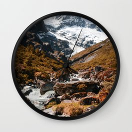 The River (Color) Wall Clock