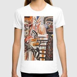 A vectorised Basquiat T-shirt