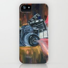 Lights, Camera, Action iPhone Case
