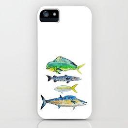 Caribbean Fish iPhone Case