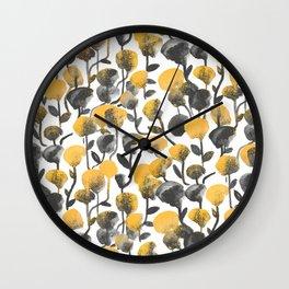 Full Of Flower Wall Clock