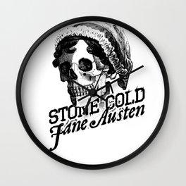Stone Cold Jane Austin Wall Clock