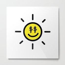 Dollar Sunshine Metal Print