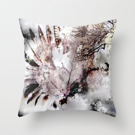 Darknature Throw Pillow