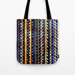 Linear Halloween pattern Tote Bag