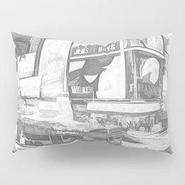 Times Square II (digital sketch) Pillow Sham