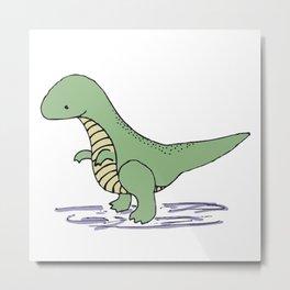 Baby T-Rex Metal Print