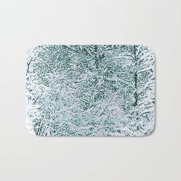 Winter Storm Bath Mat