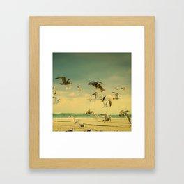 Flight Pattern Framed Art Print