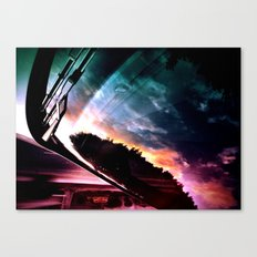 Inverted Horizon Canvas Print
